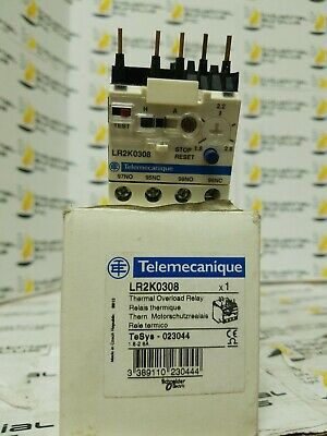 Telemecanique LR2K0308 Thermal Overload Relay *FREE SHIPPING*