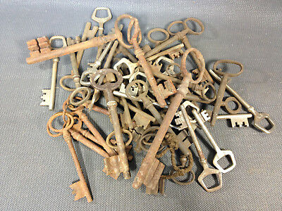 Set of Keys Keys Old Restore Vintage Key Forged Iron