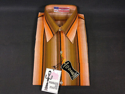 Old Shirt Striped Vintage New Years 1970 Louisiane Suit Theatre