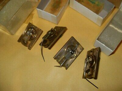 4 x Clock Cylinder Escapements Repair Needed - SF / SFRA - As Photo's..