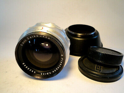 M42 CARL ZEISS JENA Flektogon 1Q 2,8/35mm + LENS HOOD - TOP CONDITION - VINTAGE