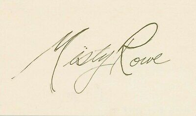 Sincere Marie Windsor Signed Autographed 3x5 Card Jsa Certified Cards & Papers Movies