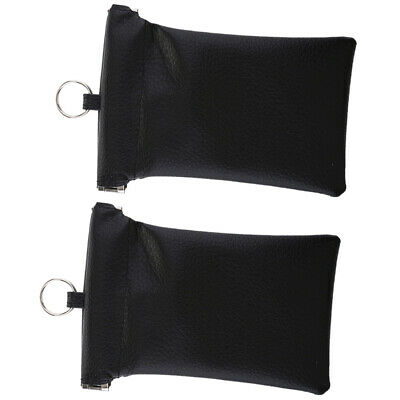 2x Car Key Signal Blocker Case Keyfob RFID Signal Blocking Bag Faraday Cage