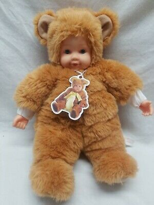 Baby Bear Bean Filled Doll No Box! Punctual Vintage New With Tags Anne Geddes