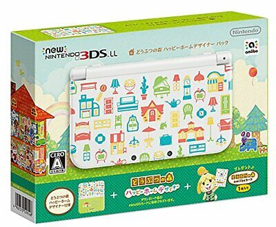 NEW Nintendo 3DS game Console Animal Crossing Happy Home Designer Pack Forest