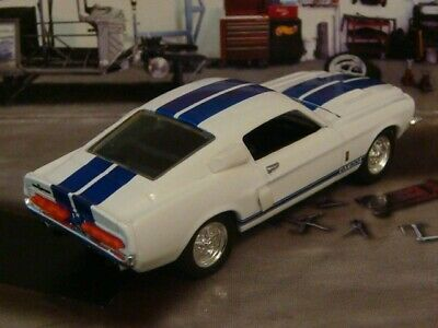 1967 67 Ford Shelby Muatang GT 500 V-8 Muscle Car 1/64 Scale Limited Edition B