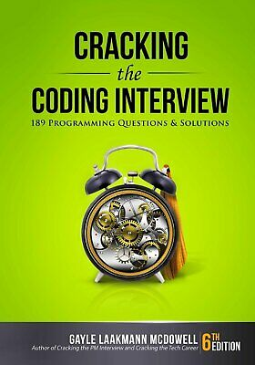 Cracking the Coding Interview:189 Programming Questions &Solutions 6th ed E-B00K