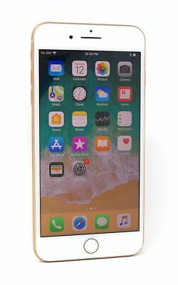 """Apple iPhone 8 Plus 5.5"""" Smartphone Unlocked 256GB Gold Touch ID Not Working"""