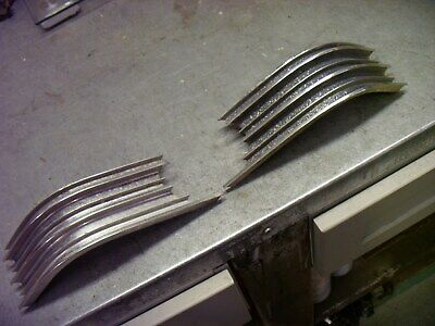 1963 Cadillac Left And Right Grille Trim Between Frt Grill And Turn  Signal Lamp