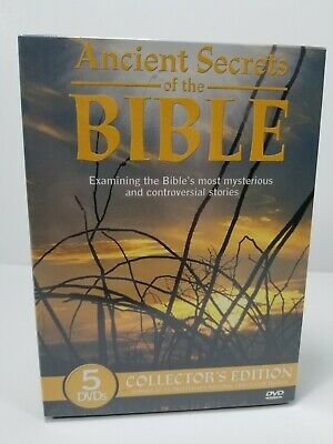 ANCIENT SECRETS OF THE BIBLE ~ Complete Series ~ DVD Box Set ~ BRAND NEW SEALED