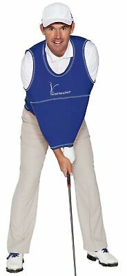 The Golf Swing Shirt Navy Blue #7 240-280lbs Unisex Golf Training Aid Trainer