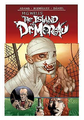 Hg Wells The Island Of Dr Moreau #2 (Of 2) Pre-Order 28/08/19 Vf/Nm Idw