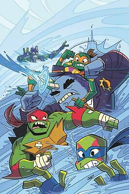 Tmnt Rise Of Tmnt Sound Off #2 (Of 3) Cvr A Thomas Pre-Order 07/08/19 Vf/Nm Idw