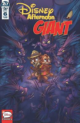 Disney Afternoon Giant #6 Pre-Order 07/08/19 Vf/Nm Idw
