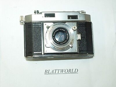 AGFA KARAT 36 35mm COLLAPSIBLE CAMERA with 50mm F2.0 RODENSTOCK HELIGON LENS