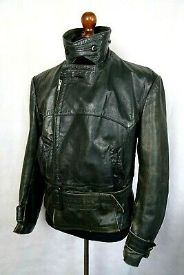 Men's WW2 Vintage Horsehide Leather Luftwaffe Jacket 44R (L)