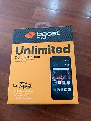 BRAND NEW BOOST Mobile LG Tribute Dynasty SP200 4G LTE 5