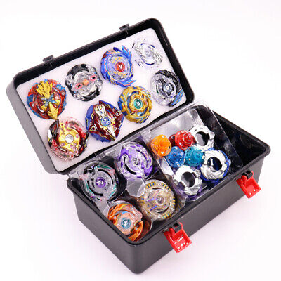 NEW 1/12Pcs KIT Beyblade BURST Launcher SET Toys With Box BEST GIFT FOR KIDS AU