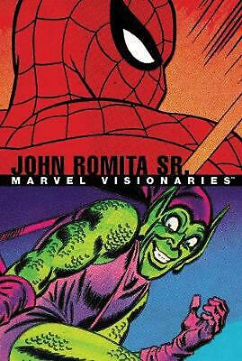 Marvel Visionaries: John Romita Sr. by Stan Lee Paperback Book Free Shipping!
