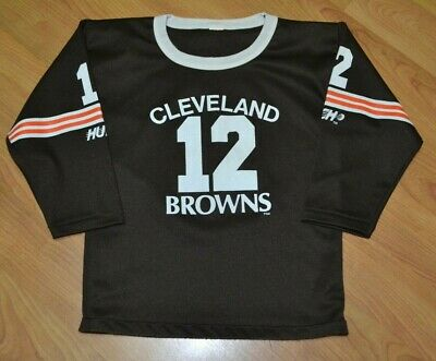 premium selection ab101 ac747 VTG 90S CLEVELAND Browns Football Jersey Youth Medium Testaverde NFL