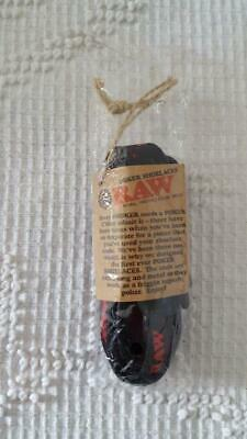 """Nip Raw Rolling Papers Poker Novelty Shoelaces, 1.5""""Poker, New"""