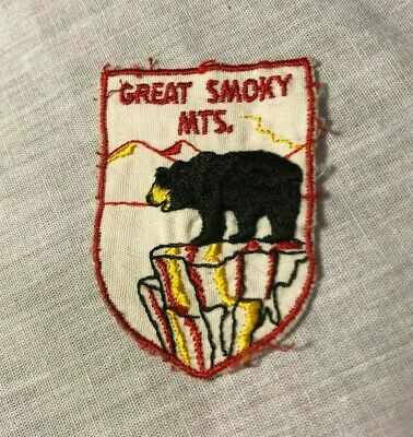 Great Smoky Mountains Tennessee TN Travel Tourism Souvenir Patch