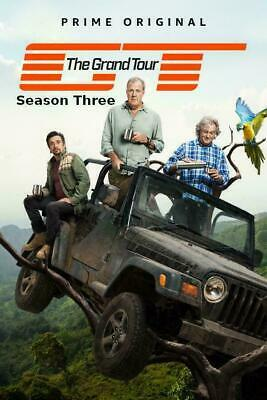 THE GRAND TOUR-Season 3 DVD 3rd Series New & Sealed-same Day Dispatched