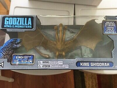 **NEW**  2019 Godzilla King of the Monsters KING GHIDORAH  figure 12""