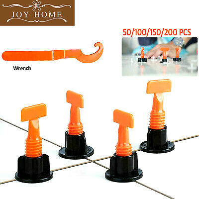 Reusable Tile Leveling System Floor Wall Alignment Adjustable Clips Wrench Clip