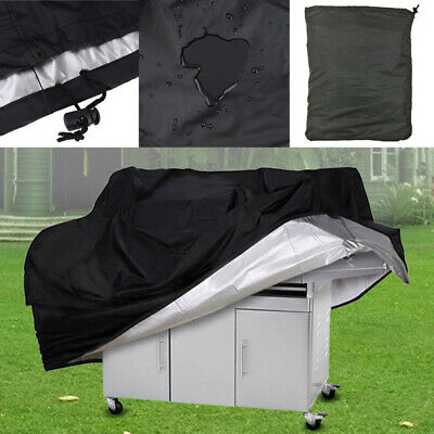 Waterproof Barbecue Cover Kettle BBQ 3-4 Burner Grill Cover UV Protector 5 Sizes
