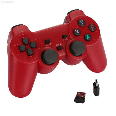 DDE8 Wireless Gamepad Game Controller 2.4G for PS3 Joypad Portable Video Game