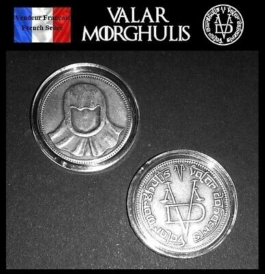 1 Pièce sous capsule ( Coin ) - GOT Game of Thrones Valar Morghulis Faceless Man