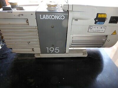 Labconco 195  Vacuum Pump Works Vacuum Created And Functions  Works Great