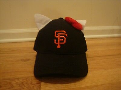 aa96d0985 San Francisco Giants Hello Kitty cat ears hat cap SGA snapback SF 7/29/