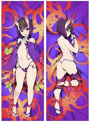 Anime fate/grand order shuten douji Dakimakura Pillow Case Cover Hugging Body