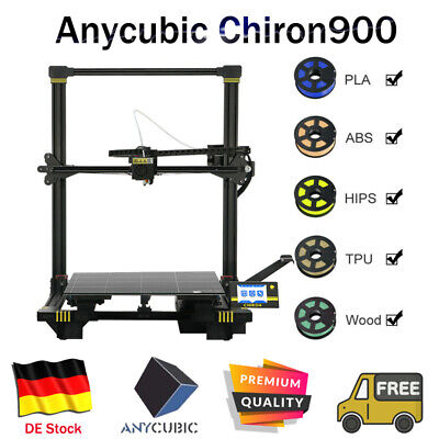 *DE ANYCUBIC Chiron900 3D-Drucker Dual Z-Achse Auto-Leveling Größe 400*380*450mm