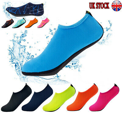 UK Men Women Water Sport Aqua Shoes Yoga Swim Surf Beach Non-Slip Size 1.5-10
