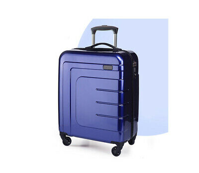 "D97 28"" ABS PC Password Lock Portable Case Trolley Travel Bag Suitcase S"