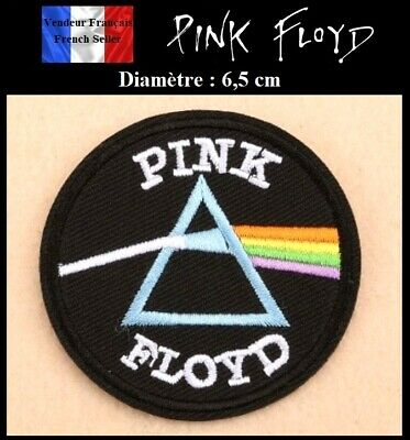 Écusson Brodé Thermocollant NEUF ( Patch Embroidered ) - Pink Floyd ( Ref 1 )