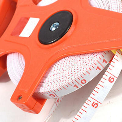Professional 30M/50M/100M Geared Tape Measure Meters Survey