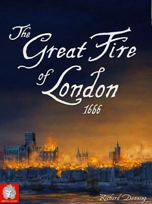 Medusa Boardgame Great Fire of London, The - 1666 (3rd Edition) Box SW
