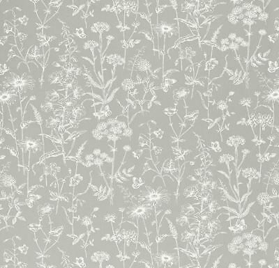 Laura Ashley Baroque Silver Wallpaper * FREE DELIVERY * Several Available