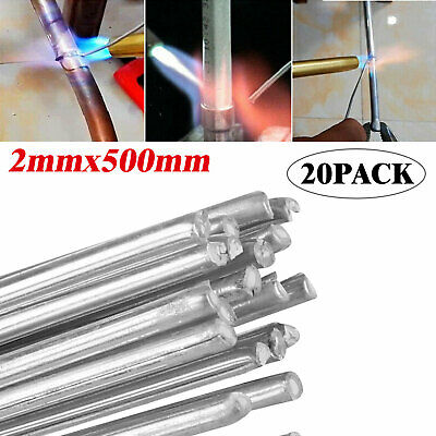 Easy Melt Welding Rods Low Temperature Aluminum Wire Brazing 20pcs - 2*500mm CLL