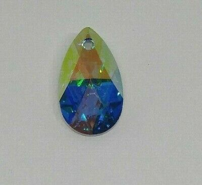 faeae4bbb Swarovski Crystal 22x13mm Comet Argent Light AB Pear 6106 Pendant; CLEARANCE