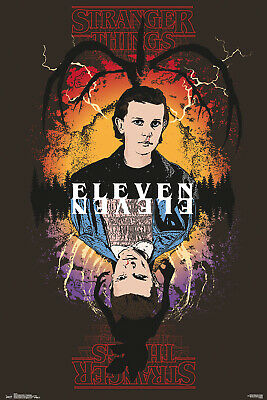 Stranger Things Eleven Maxi Poster Print 61x91.5cm | 24x36 inches