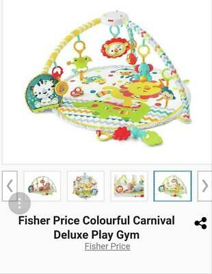 Fisher Price Carnival Deluxe Play Gym paid $118...sell $50