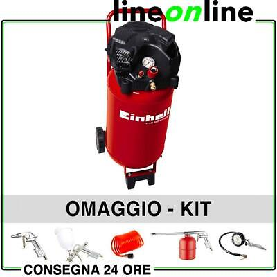 Compressore aria 50 lt Einhell TH-AC 240/50/10 OF Verticale 10 bar OIL FREE 2 hp