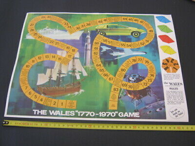 VINTAGE - BANK of NEW SOUTH WALES - BOARDGAME - 1970