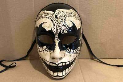 Full Face Masks with Diamond Pattern for Venetian Ball Volto Scacchi