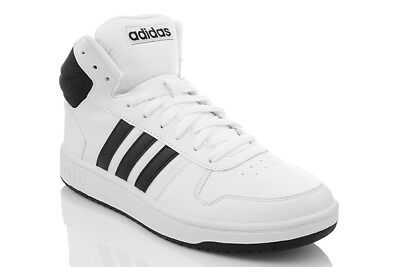 ADIDAS HOOPS 2.0 Mid Cut Chaussures Homme Baskets Top Sport